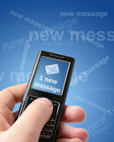 New message Stock Photography
