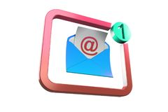 New message Royalty Free Stock Photography