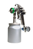 New metal brilliant Spray gun Stock Images