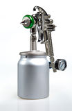 New metal brilliant Spray gun Royalty Free Stock Images