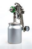 New metal brilliant Spray gun Royalty Free Stock Images