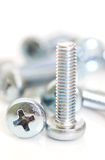 The new metal screw Royalty Free Stock Photography