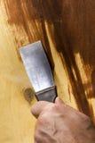 New metal spatula Stock Photos