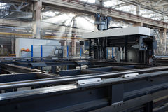 New metalworking machine Stock Photography
