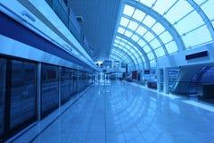 New Metro Station in Dubai Stock Photography