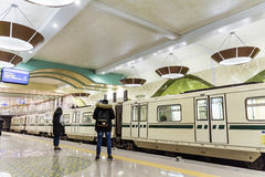 New metro station in Sofia Royalty Free Stock Images