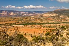New Mexico desert landscape Royalty Free Stock Photo