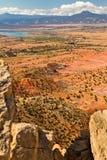 New Mexico desert landscape Stock Photos