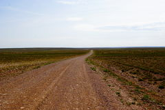 New Mexico dirt road. A picture of a dirt New Mexico road royalty free stock images