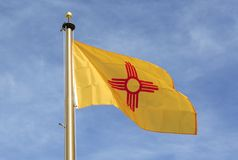 New Mexico Flag Stock Image