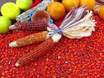 New Mexico Food Display Stock Images