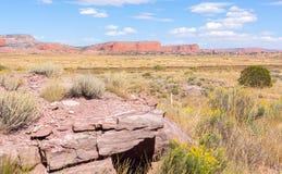 New Mexico high plains landscapes Stock Photos