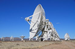 New Mexico: Karl G. Jansky Very Large Array -VLA Stock Photo