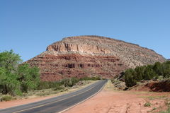 New Mexico. Landscape New Mexico with mesa Stock Photography
