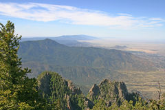 New Mexico Manzano Mountains Stock Photo