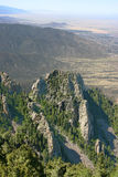 New Mexico Mountain View Royalty Free Stock Photos
