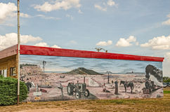 New Mexico Mural Stock Image