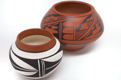 New Mexico Pottery Royalty Free Stock Image