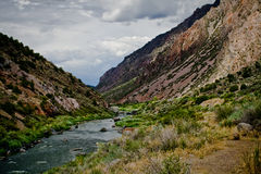 New Mexico River. Image of a river in New Mexico royalty free stock photos