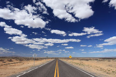 New Mexico Road Royalty Free Stock Photos