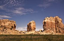 New Mexico Rock Formations Stock Images