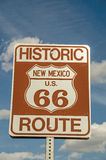 New Mexico Route 66 Sign Royalty Free Stock Photo