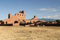 New Mexico Ruins. Abo Ruins of New Mexico Royalty Free Stock Image