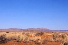 New Mexico Scenery. Central New Mexico USA scenic mountains and desert vista landscapes stock image
