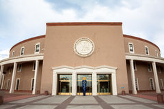 New Mexico State House & Capitol Building. New Mexico State House and Capitol Building in Santa Fe, NM stock images
