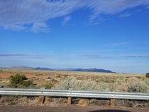 New Mexico. Sunny morning in New Mexico stock photo