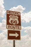 New Mexico US Route 66 Sign Stock Photos