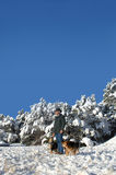 New Mexico Winter Vista Stock Images