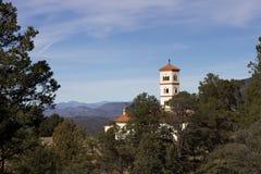 New Mexiko-Kirche stockfotos