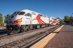 New Mexiko-Schienen-Läufer-Lokomotive lizenzfreies stockfoto