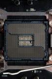 New micro chip. Stock Photos