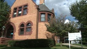 New Milford Public Library (2 of 3) stock footage