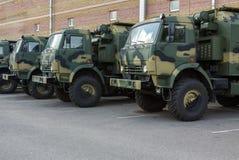 New military tucks Royalty Free Stock Photos