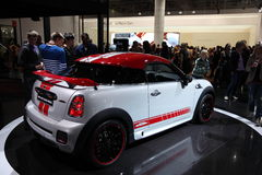 New Mini Cooper Works at the IAA Stock Photography