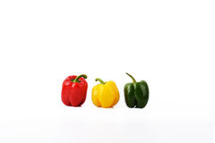 A new minimalist objectivity  85 - Three Peppers Royalty Free Stock Image