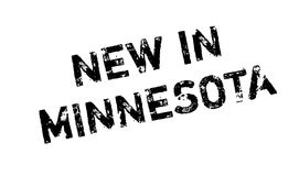 New In Minnesota rubber stamp Stock Image