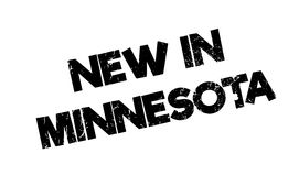 New In Minnesota rubber stamp royalty free illustration