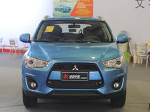 New mitsubishi asx suv Royalty Free Stock Images
