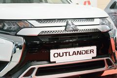 New Mitsubishi Outlander royalty free stock image