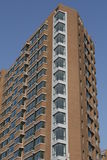 New modern apartment building. Under blue clear sky for copy space Stock Photo