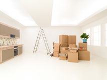 New modern apartment Royalty Free Stock Photography