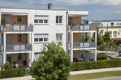 New modern apartment in Germany Royalty Free Stock Photos