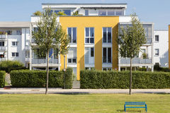 New modern apartment house Stock Photography