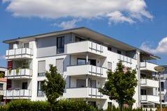 New modern apartment house Stock Photos