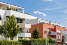 New modern apartment house Royalty Free Stock Photography