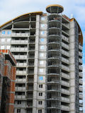 New modern apartments house under construction Royalty Free Stock Photography